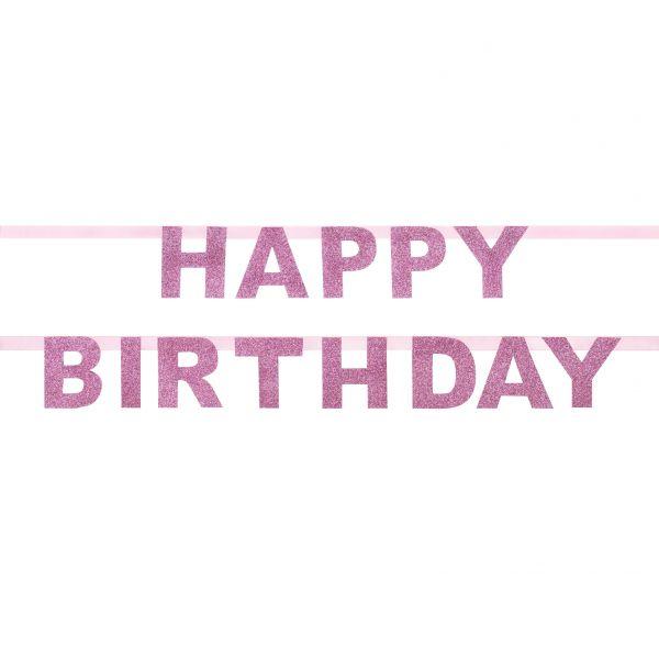 Girlande HAPPY BIRTHDAY, 1,85m