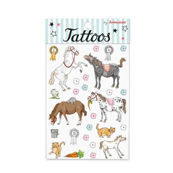 Tattoos Pony, 1 Bogen