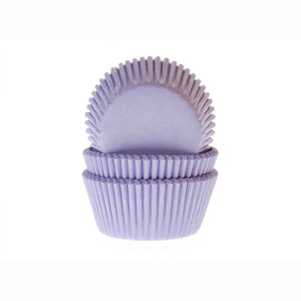 Muffinförmchen lila, 50 Stück