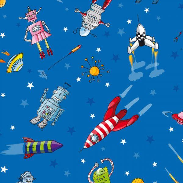 Geschenkpapier Raumfahrt, 1 Bogen