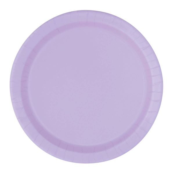 Pappteller Lavendel ⌀ 23cm, 8 Stück