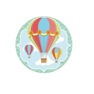 Tortenaufleger Baby-Ballon ø 16cm