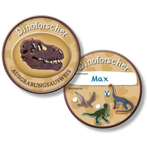 Ausweis Dinoforscher