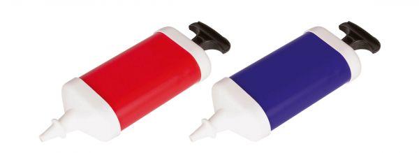 Ballon-Pumpe, farbig sortiert