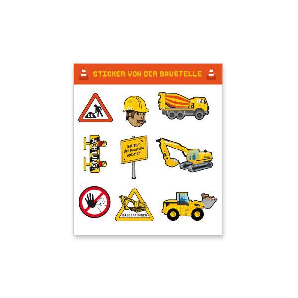 Sticker Baustelle