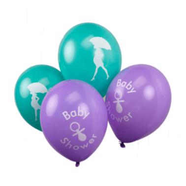 Luftballons Babyshower , 8 Stück