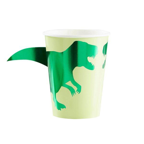 Pappbecher Dino 250ml, 8 Stück