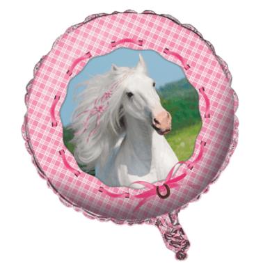 Folienballon Pferd ⌀ 46cm