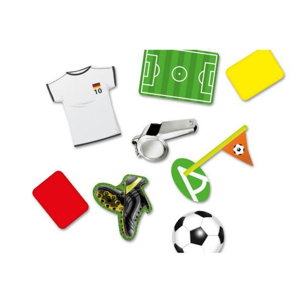 XXL Konfetti Fußball