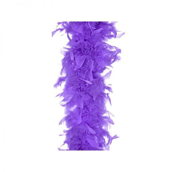 Federboa lila 180cm